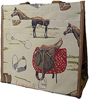 Signare 312-Cat Cat Shopper Traditional Tapestry