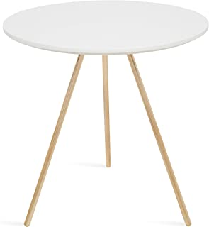 Kate and Laurel Rohm Modern Tripod Side Accent Table, 20