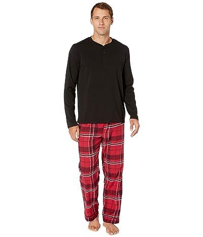 BedHead Pajamas Henley PJ Set (Nicholas Plaid) Men