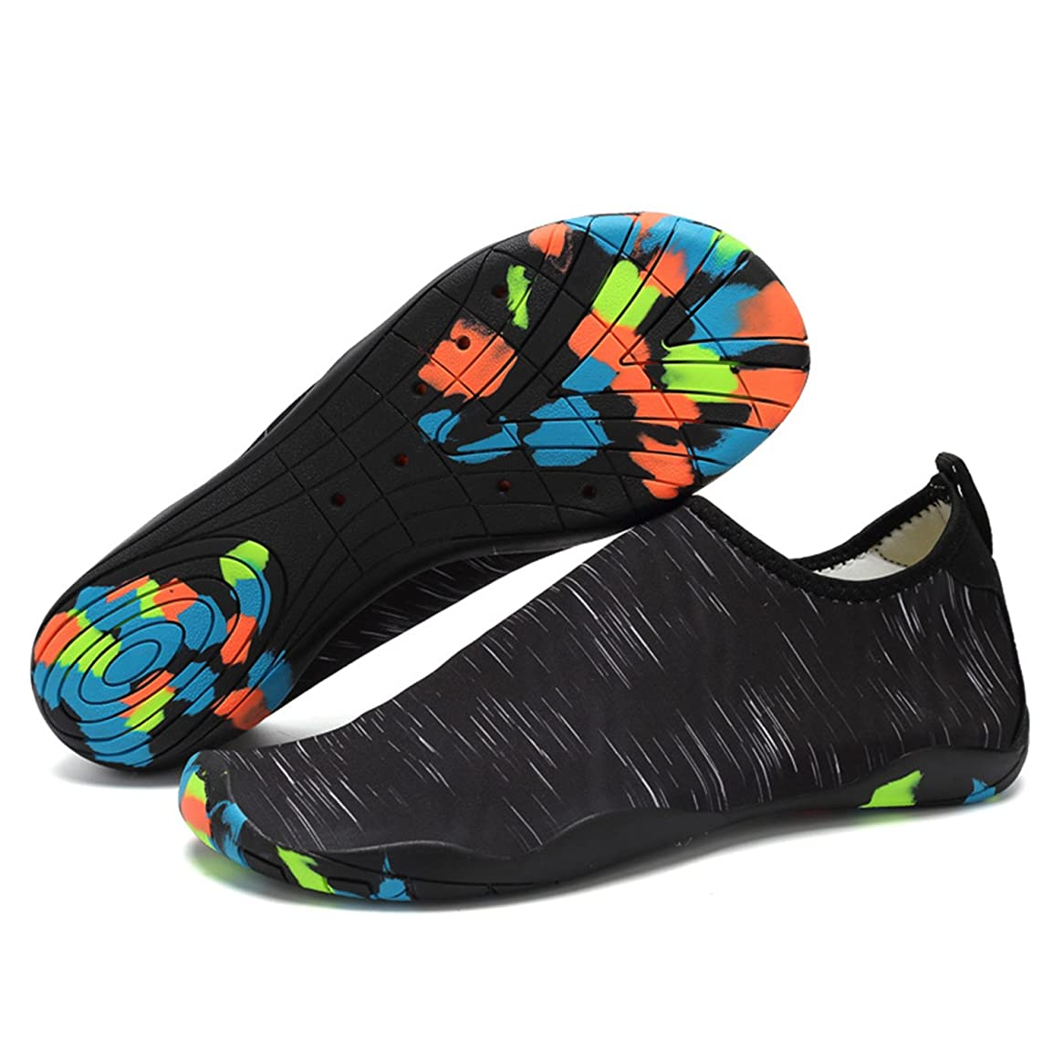xylxyl Mutifunctional Water Shoes, Lightweight Flexible Quick Dry Aqua Socks for Men and Women
