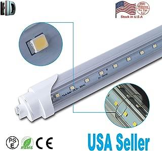 Hot Selling 6PACK R17D Clear Cover 6500K Household Lighting SMD2835 T8 5FT 30W Led Lights V-Shaped LED T8 Tube Light lamp