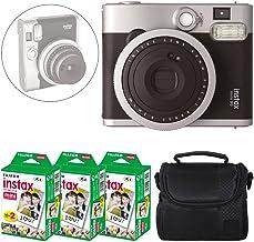 Fujifilm INSTAX Mini 90 Neo Classic Instant Camera (Black) + Fujifilm Instax Mini Instant Film (60 Exposures) + Camera Cas...