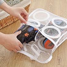 Laundry Bag Shoes Organizer Bag for Shoe Mesh Laundry Shoes Bags Dry Shoe Home Organizer Portable Laundry Washing Bags