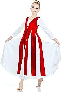 Danzcue Girls Metallic Streamer Tunic (Dress Not Included)