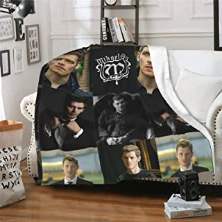 """EAROBA Soft Flannel Fleece Blanket, Vam-Pire Klaus-Mikaelson Throw Blankets for Couch Sofa Bed Traveling 50""""X40"""""""