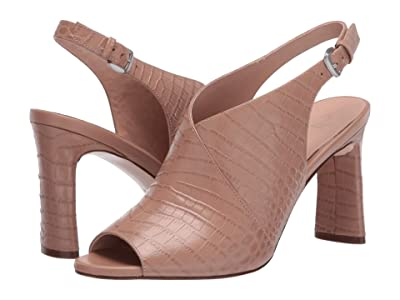Naturalizer 27 Edit Gemma (Taupe Croco Print Leather) Women