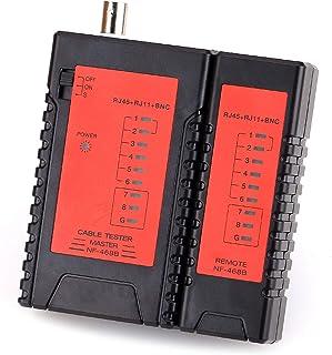 KELUSHI NF468B Network Cable Tester RJ45 RJ11 BNC Cable Tracker Tester Network Ethernet Network Tester