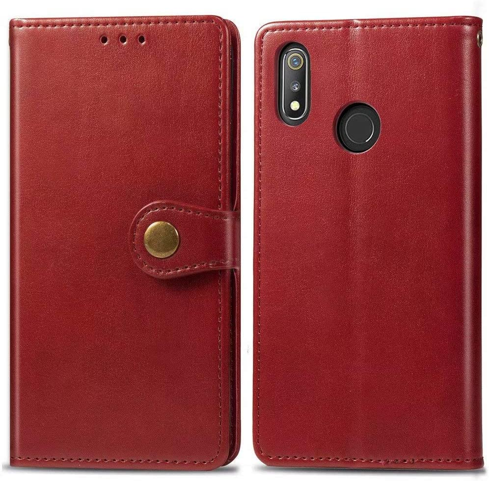 Case for Oppo Realme 3 Pro Max 68% OFF F PU Flip Wallet New product!! Abtory Leather