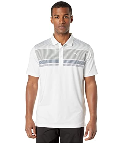 PUMA Golf Road Map Polo (Deep Lichen Green/Dark Denim) Men