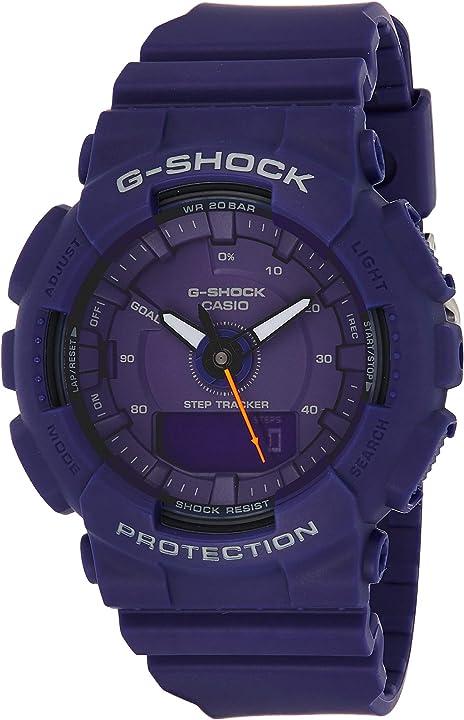 Orologio casio g-shock analogico-digitale quarzo uomo con cinturino in plastica gma-s130vc-2aer