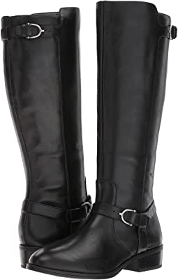 5a6790cdc LAUREN Ralph Lauren. Mikenna.  27.99MSRP   69.00. Black Burnished Calf