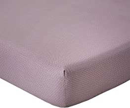 Yves Delorme - PALMIO Prussian Blue Queen Fitted Sheet - Luxury Fitted Sheet from France.