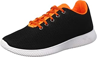 Salerno Mesh Lace-Up Contrast Lining Fashion Sneakers For Men
