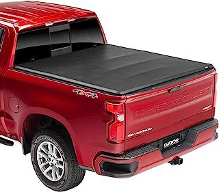 Gator ETX Soft Tri-Fold Truck Bed Tonneau Cover | 59109 | Fits 2014 - 2018, 2019 Ltd/Lgcy Chevy/GMC Silverado/Sierra 1500 ...