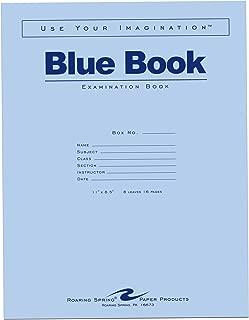Roaring Spring Blue Exam Book, 11