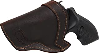 Barsony New Brown Leather IWB Holster for 2