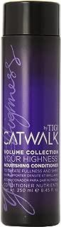 TIGI Catwalk Your Highness Nourishing Conditioner, 8.45 oz