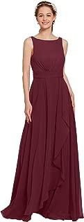Bridal Long Bridesmaid Dresses Plus Size Formal Dresses Evening Prom Dresses for Women