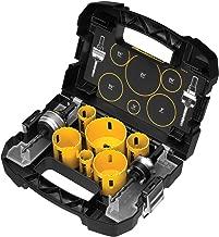 DEWALT D180002 Standard Electricians Bi-Metal Hole Saw Kit