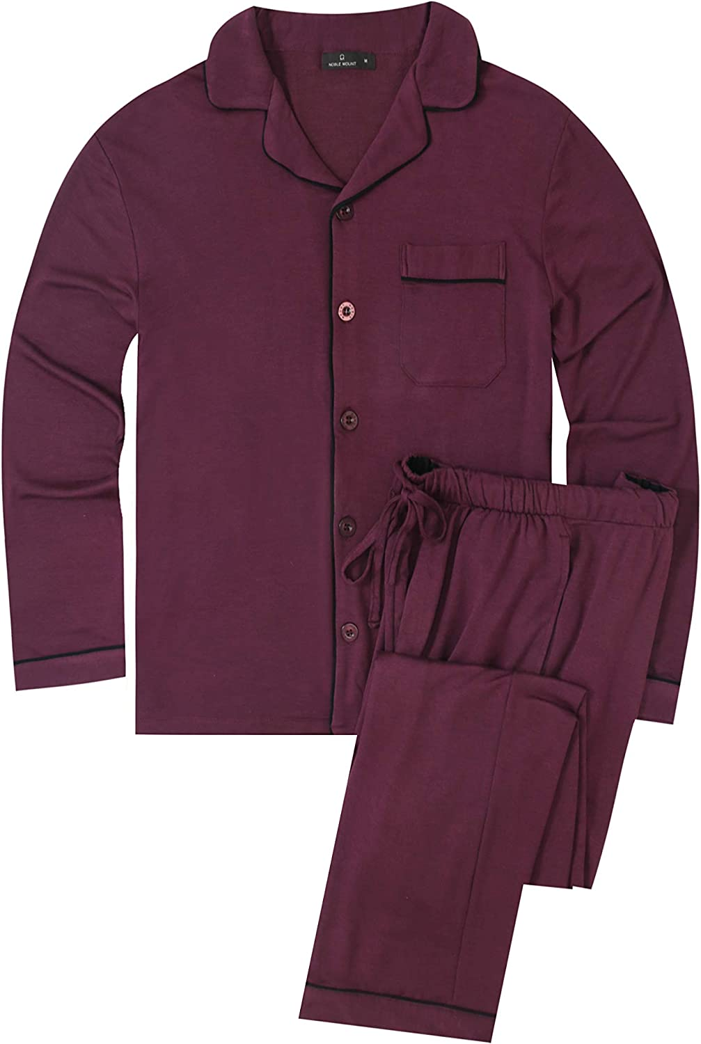 Noble Mount Men's Jersey Knit Set French Popular popular New products, world's highest quality popular! Pajama Terry