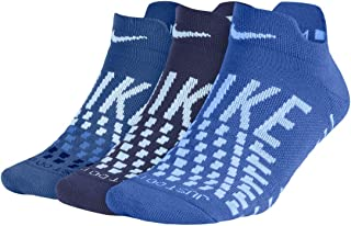 Women's 3 Pack Everyday Max Cushioned Low Tab Socks Blue SZ 6-10