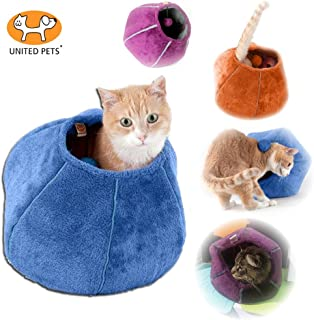 United Pets Kitty Cat Cozy Cave & Bed