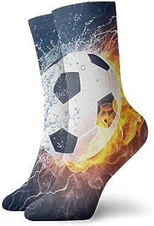 Calcetines casuales Calcetines de fútbol de fuego de agua Calcetines de compresión de vestido corto Calcetines de compresión para mujeres Hombres
