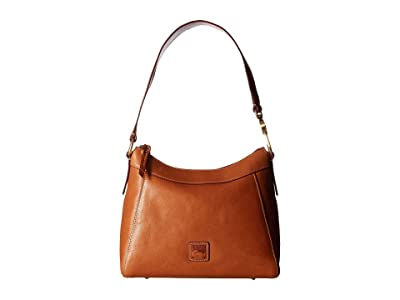 Dooney & Bourke Florentine Classic Large Cassidy Hobo (Natural/Self Trim) Hobo Handbags