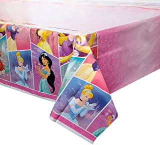 Unique Plastic Disney Princess Table Cover 54