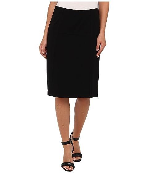 NIC+ZOE New Ponte Flirt Skirt Black Onyx 2 Discount 100% Original PBwdMu