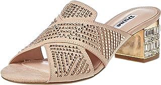 Dune London Magic DI Occasion Shoe For Women, Nude, 41 EU