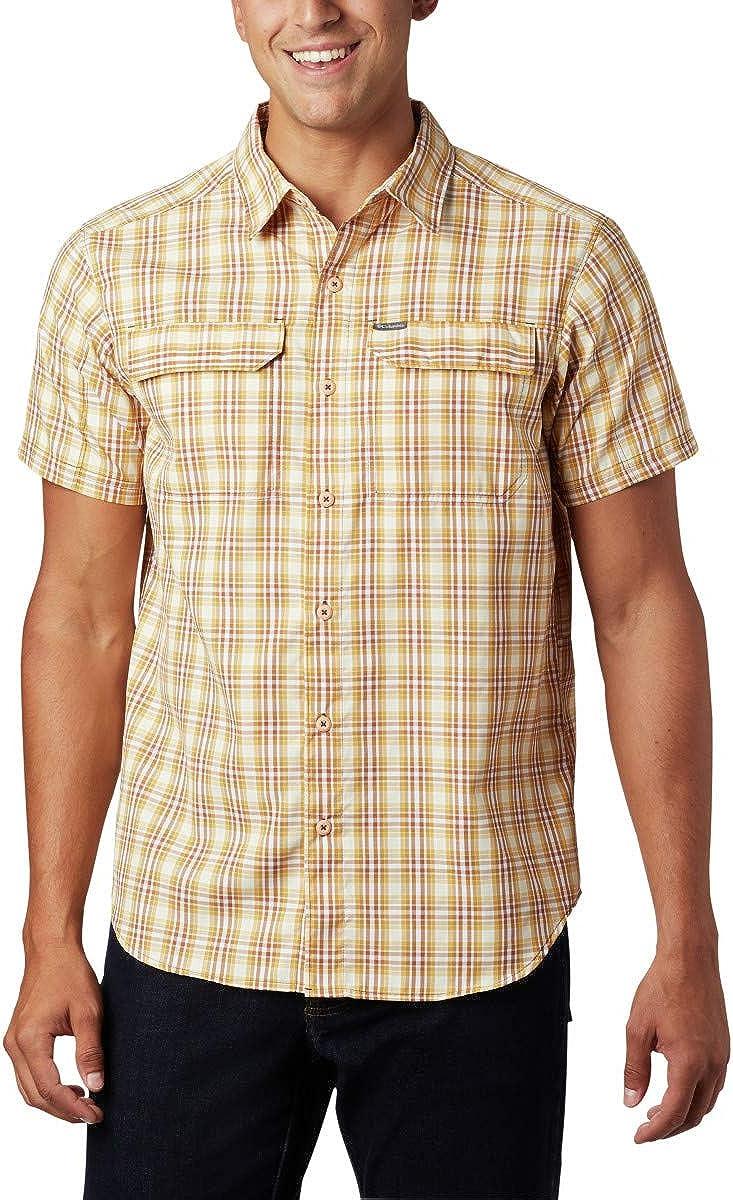 Columbia Men's Silver Ridge 2.0 Multi Plaid Short Sleeve Vented Shirt: Clothing