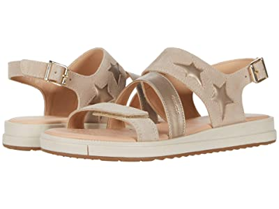 Geox Kids Sandal Rebecca 1 (Big Kid) (Medium Beige) Girl
