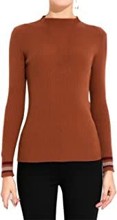 Luna et Margarita L&M Solid Sweater Long Sleeves Thermal Tops for Women