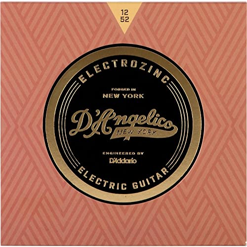 DAngelico Electrozinc Jazz 12-52 Light Electric Guitar Strings