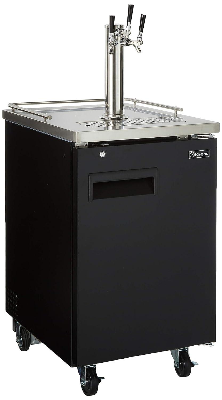 Kegco HBK1XB-3 3-Faucet Max 84% OFF Commercial Kegerator Dispenser Beer Keg San Francisco Mall