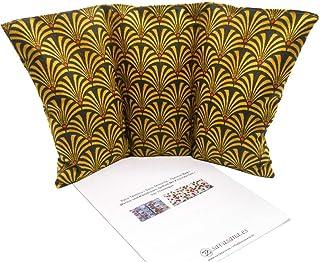 """Cuscino termico noccioli ciliegia """"Ramses"""" - 26 x 16 cm (M / L) - pieno di noccioli di ciliegia 330gr - effetto freddo/caldo"""