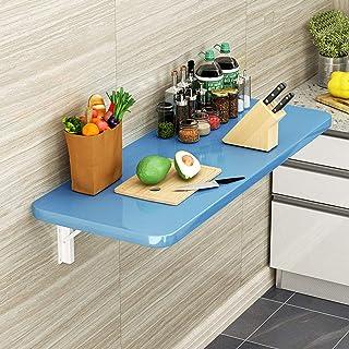 Table de Salle à Manger Pliante pour Cuisine Domestique, Bureau d'ordinateur Mural, Table Peu encombrante pour étudier, Ma...