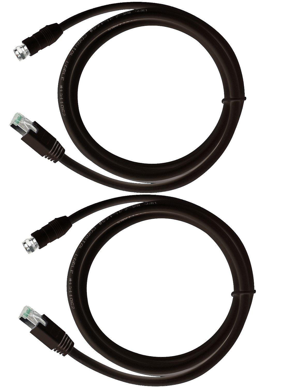 RG-6 cable coaxial a través de UTP CAT5E/6, adaptador convertidor extensor balun emisor y receptor: Amazon.es: Electrónica
