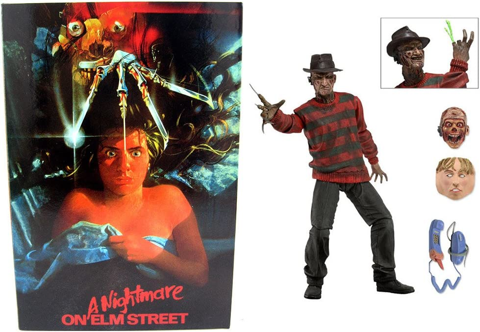 "NECA - Nightmare on Elm Street - 7"" Scale Action Figure - Multi-colored"