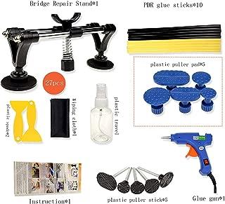 sunways Dent Puller, Dent Removal Kit 27PCS Works on Minor Dents Door Dings and Hail Damage,Fifth Generation