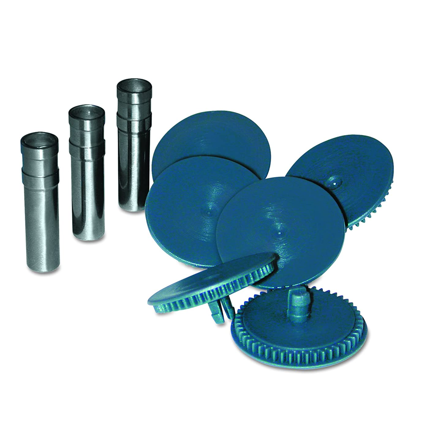 Swingline 74872 Replacement Punch Head for 160-Sheet High-Capacity Punch, 9/32 Diameter, Set of 3 Replacement Heads and 6 Discs