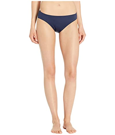 LAUREN Ralph Lauren Beach Club Solids Solid Hipster Bottoms (Navy) Women