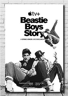 Posters Beastie Boys Story Movie Poster Visuele Kunst PosterCanvas Decor Zwart-wit Beelden Home Decor Wall Art-50x70cm Gee...