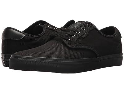 Vans Chima Ferguson Pro ((Twill) Blackout) Skate Shoes