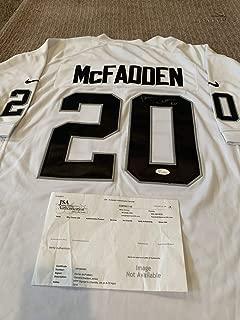 Darren Mcfadden Autographed Signed Autograph Jersey JSA Authentic Oakland Raiders Los Angeles La