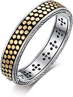 Eastbon Bracelet Designer Brand Inspired Vintage Cable Bangle Bracelet with Spots