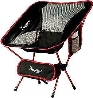 comprar comparacion Syourself Silla de Camping Plegable portátil, Ligera, compacta, cómoda, Transpirable, para Playa, para Senderismo, Picnic,...
