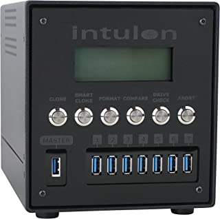 Sponsored Ad – Intulon Up to USB 3.0 Media Duplicator and Secure Wiper (7 Targets, Black)