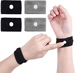 2 Pairs Motion Sickness Relief Wristbands Travel Sickness